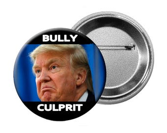 """Funny Trump Nickname Pins or Magnets - 6 Different """"Anti-Trump"""" Designs Choose various quantities of L Buttons, L Magnets or Small Buttons"""