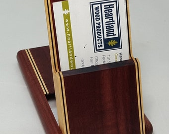 Business Card Case - Purpleheart