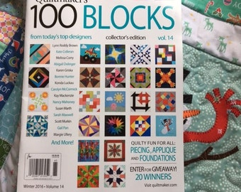 Pre-Order Quiltmaker's 100 Blocks Vol. 14 Personalized Copy