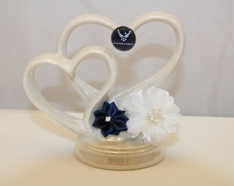 Air Force Inspired Wedding Cake Topper