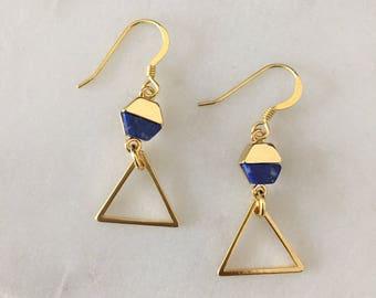 Modern Gold Earrings