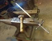 Custom stainless sword for sword swallowers