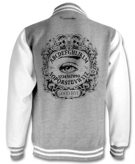 Ouija Board Mystical Eye Varsity Jacket
