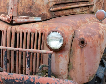 Fine Art Print Parke County truck (IDCOABF015)