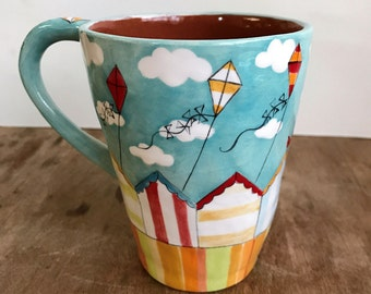 Sunny Seaside Mug - Ready to Ship