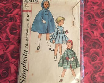 50's Vintage Simplicity Sewing Pattern