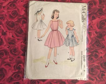 50's Vintage McCalls Sewing Pattern