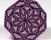 Raw Polymer Clay Octogonal  Kaleidoscope Cane