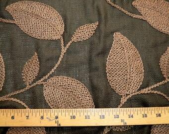 Astoria Chocolate Softline Fabric