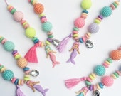 Special listing mermaid necklaces