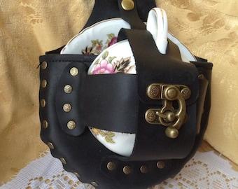 Steampunk Tea Cup Holster Set