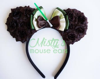 Inspired Yoda Rose Mouse Ears
