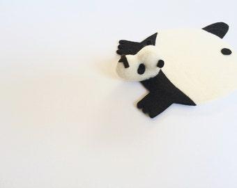 Panda Bear Coaster by Dandyrions