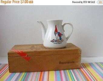20% OFF MOVING SALE Vintage Dutch Van Nelle's Piggelmee Small Teapot from Children's Tea Set