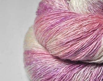 Flower fairy apprentice - Tussah Silk Lace Yarn