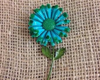 Bright Flower Brooch Pin
