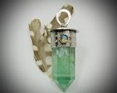 Fluorite Crystal Pendant