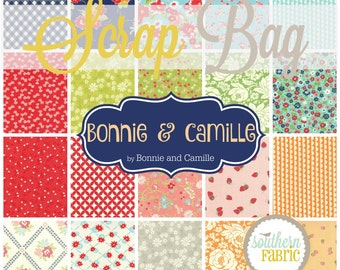 Bonnie and Camille - Scrap Bag Quilt Fabric Strips by Bonnie and Camille for Moda