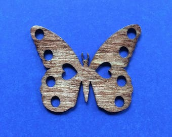 Wood Butterfly Thread Keep