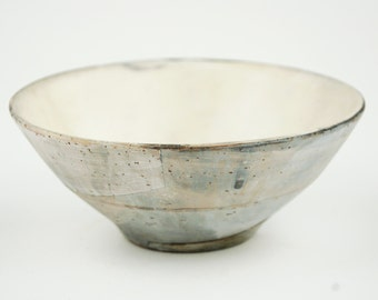 Bowl with Grey Color Blocking