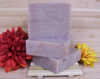Sandalwood Soap Handcrafted Cold Processed Soap Earthy Soap Vegan Soap
