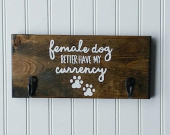 Dog Leash Hooks, Dog Leash Holder, Dog Leash Hanger, New Dog Gift, New Puppy Gift, Dog Collar Hook, Dog Bandana Holder, Housewarming Gift