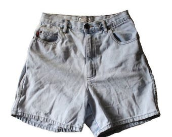 60% off sale // Vintage Early 90s BUGLE BOY for Her Denim Shorts Women M