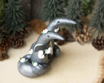 Anteater Wedding Cake Topper by Bonjour Poupette