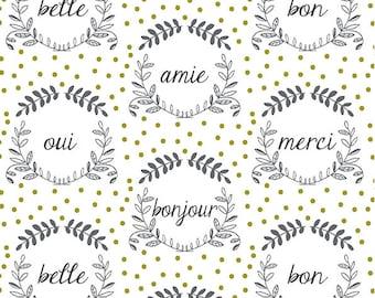 Crib Bedding - Wreath Changing Pad Covers / Neutral Nursery /French Crib Sheet / Mini Crib Sheets / Babyletto Mini Sheet / Crib Bedding Set