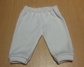 White pants for 13-14 inch baby