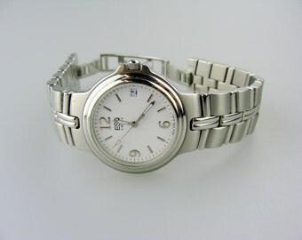 ESQ Swiss Stainless Steel Date Watch 300698