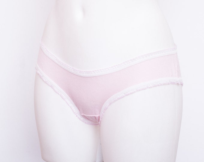 New old stock panties pink low rise deadstock Vintage
