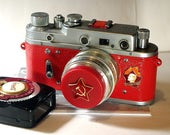 1958 Made in USSR ZORKI-2S camera rare Russian Leica  with -=Aways Ready=-