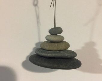 Cairn Sea Stone Pendant/Decoration