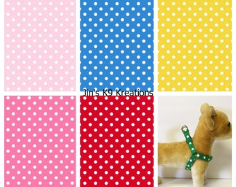 Polka Dot Step-in Harness - Made to Order -