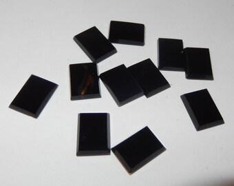 Black Onyx flat rectangle
