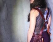 Crimson  Leather Pocket Holster / Shoulder Holster