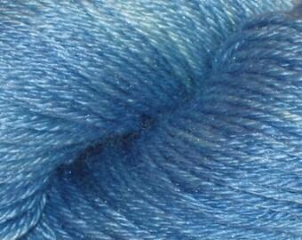 Shirley's Blue Kettle Dyed Galadriel Yarn