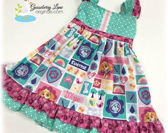 Gooseberry Lane Originals Paw Patrol Dress (pastel)