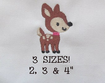 Buy 1 Get 1 Free! Baby Deer Embroidery Design Fawn Embroidery Design Machine Embroidery Pattern Digital File Embroidery File
