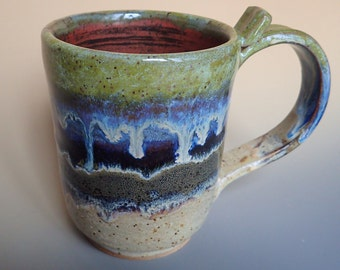 Carpe the Shit Out of This Diem Handmade Stoneware Coffee Mug Dirty Dishes