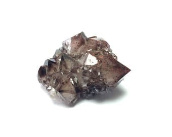 Canadian Smoky Quartz Button