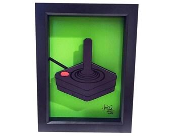 Atari 2600 Atari Joystick Video Game Art Atari Controller 3D Art