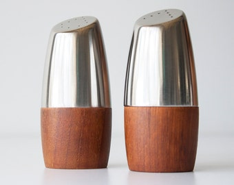Vintage Modern Arthur Salm Sweden Salt & Pepper Shakers