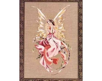 Titania Queen of the Fairies Mirabilia by Nora Corbett Unopened Cross Stitch Kit Complete Kit with Floss Needle Beads Fabric