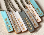 Mother's Day 2018, Mama Bar Necklace, Mom, Mommy, Grandma, Grammy, Grandmother, Nana, Nonna, Nonnie,Abuela, Oma, YiaYia, Aunt, Gigi, Maw Maw
