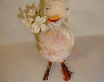Vintage Chenille Duck