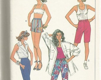 Simplicity 7565 Shorts, and Pants Pattern SZ 8   CLEARANCE ITEM