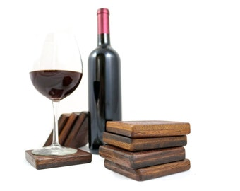 COASTERS - Wine Barrel Tank Wood - FREE SHIPPING!