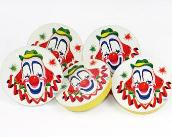 Vintage Noisemakers: Clown Design